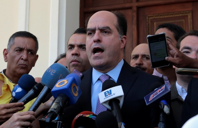 Julio Borges, presidente de la AN // Foto REUTERS/Marco Bello