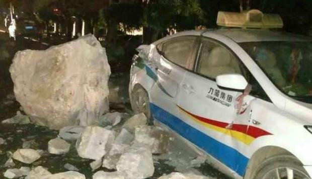 Un terremoto de 6,5 grados sacudió China. (Foto: Twitter)