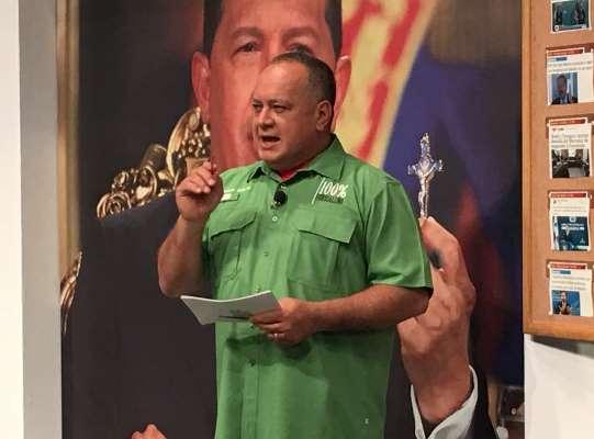El constituyente Diosdado Cabello (Foto: @ConElMazoDando)