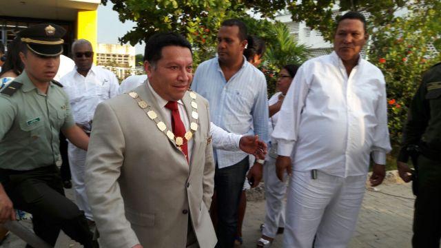 El alcalde de la ciudad colombiana de Cartagena, Manuel Duque (Foto: Mónica Casilla / eluniversal.com.co)
