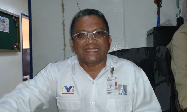 El dirigente sindical Henry Arias