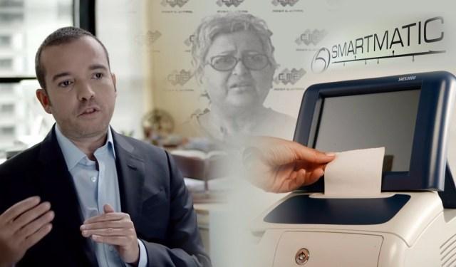 Smartmatic confirmó el megafraude