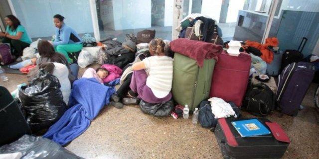 Diariamente llegan al terminal entre 15 y 20 venezolanos