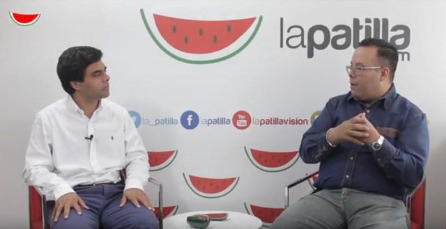 Ángel Alvarado con DGC