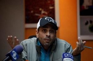 Henrique Capriles Radonski emitió un nuevo comunicado