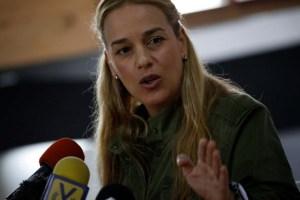 Lilian Tintori resaltó la dificultad de la asistencia humanitaria en Venezuela (Video)