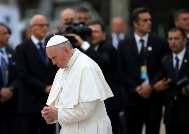 El papa Francisco en Colombia. REUTERS/Nacho Doce