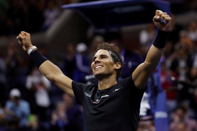 El tenista español Rafael Nadal. REUTERS/Mike Segar