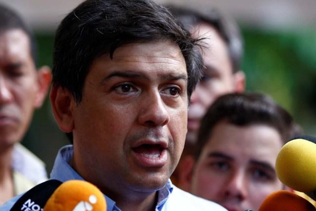 El candidato a la gobernación del estado Miranda, Carlos Ocariz. REUTERS/Christian Veron
