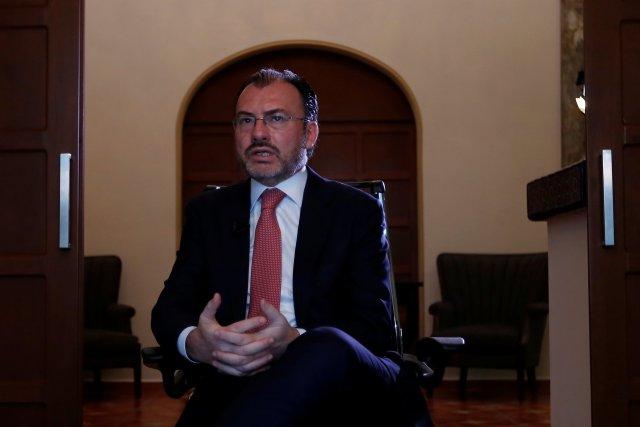 El canciller mexicano, Luis Videgaray. REUTERS/Carlos Jasso