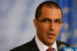 Arreaza confirma que asistirá a la reunión convocada por Colombia para tratar crisis migratoria en la ONU este #25Sep