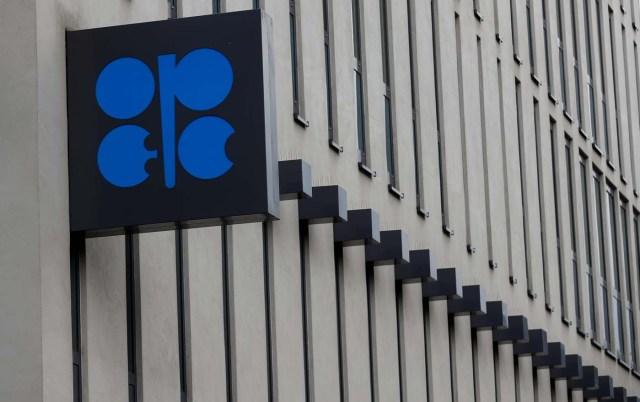 El logotipo de la Organización de Países Exportadores de Petróleo (OPEP) en su sede de Viena, Austria el 21 de septiembre de 2017. REUTERS/Leonhard Foeger