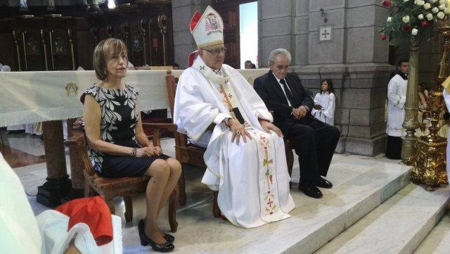 Celebración de los 50 años de vida sacerdotal de Baltazar Porras / @leoperiodista