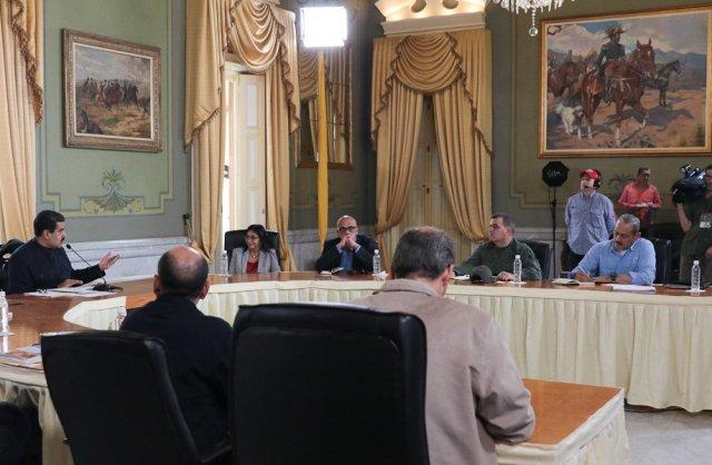 Jorge Rodríguez habló de la reunión con la MUD en Cadena Nacional (Foto: @PresidencialVen)