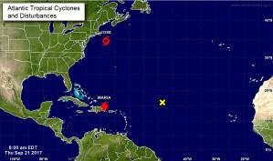La tormenta tropical José se mantiene frente a la costa noreste de EEUU