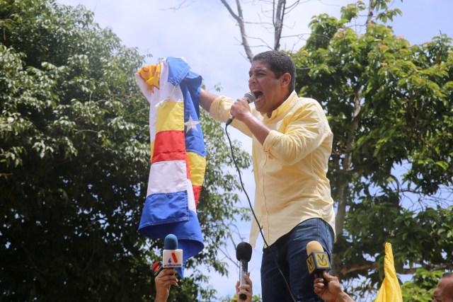 El candidato a la gobernación del estado Vargas, José Manuel Olivares (Foto: Prensa Olivares)