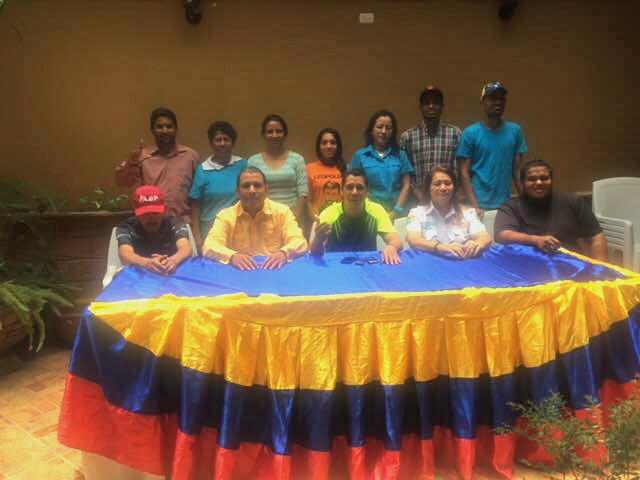Foto: La Mesa de la Unidad Democrática en Heres estado Bolívar / Prensa