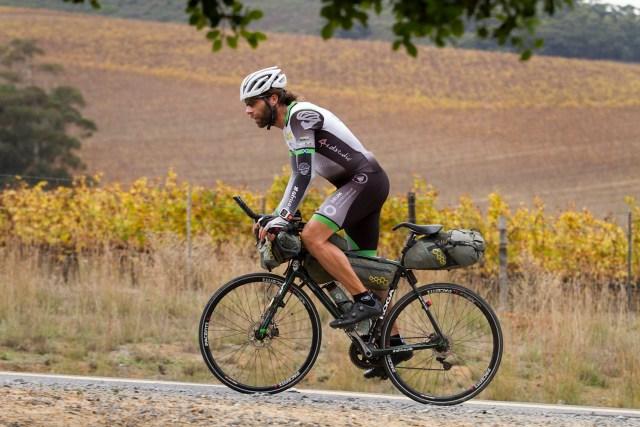 El ciclista británico, Mark Beaumont (Foto: bestroutes.bike)