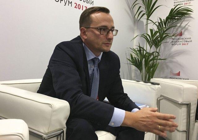 Konstantin Vyshkovsky, durante una entrevista con Reuters  REUTERS/Andrey Ostroukh