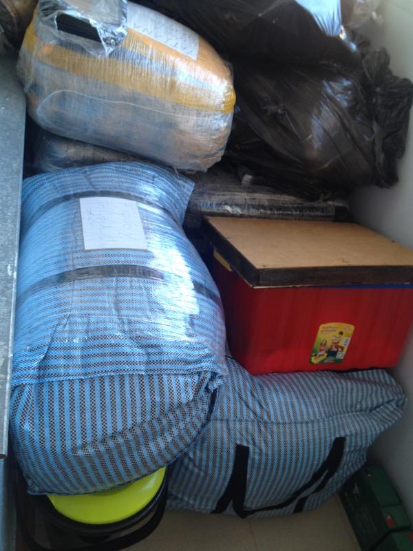 Pila de equipaje (Foto: Eliseo Matos)