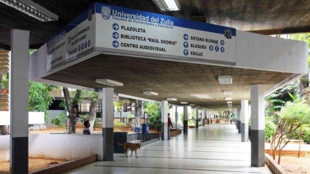 Universidad del Zulia. (Foto: Globovisión)