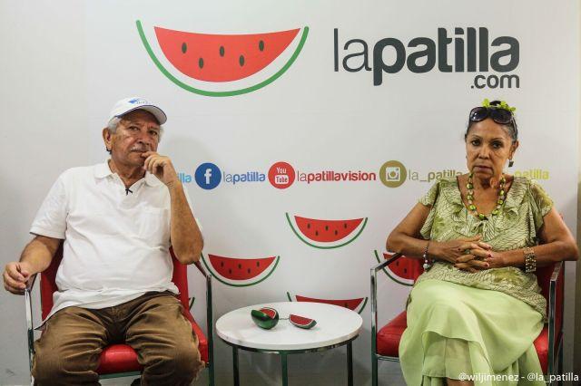 Juan Bautista Caguaniparo y Carmen Cecilia Scott, padres del capitán Juan Carlos Caguaniparo // Foto Will Jiménez - La Patilla