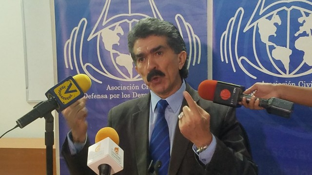 El activista de derechos humanos, Rafael Narvaez (Foto: Prensa de Solidaridad)