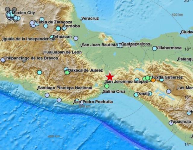 Ubicación sismo Panamá. Foto @panamaXpress