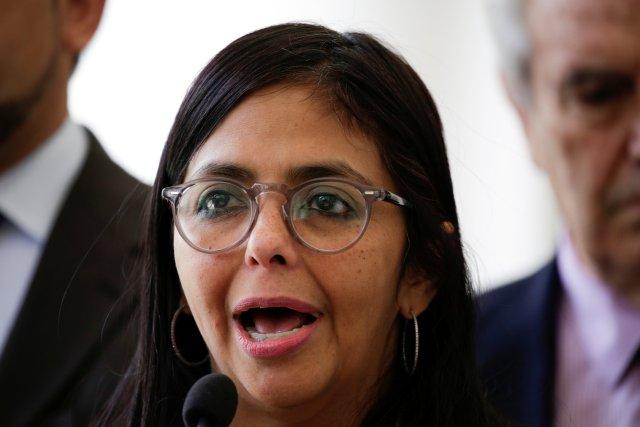 La presidenta de la Constituyente cubana, Delcy Rodríguez. REUTERS/Marco Bello