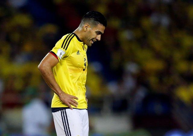 El colombiano Radamel Falcao. REUTERS/Jaime Saldarriaga