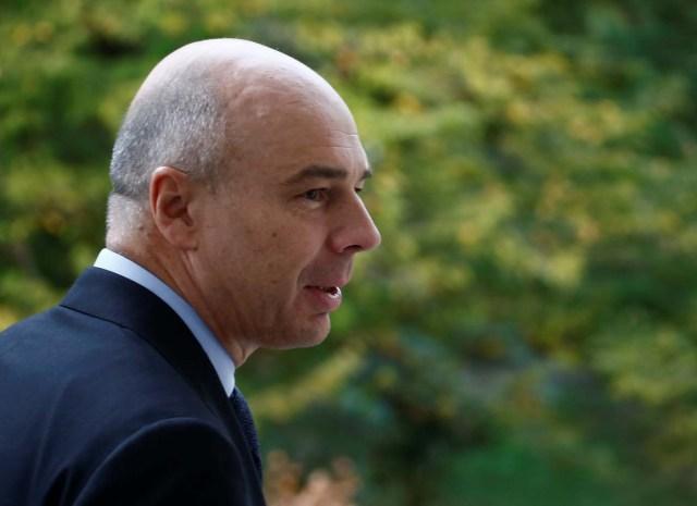 El ministro de Finanzas ruso, Anton Siluanov (Foto REUTERS/Maxim Shemetov)