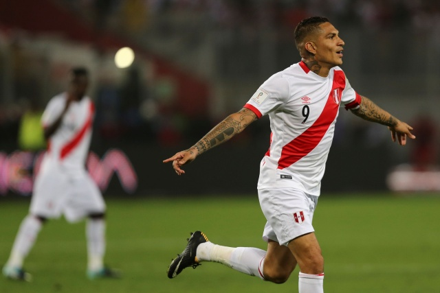 El delantero de la selección peruana, Paolo Guerrero. REUTERS/Guadalupe Pardo