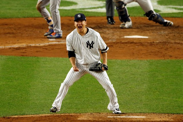 El japonés Masahiro Tanaka, abridor de los Yanquis de Nueva York. Adam Hunger-USA TODAY Sports     TPX IMAGES OF THE DAY
