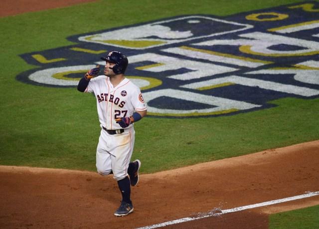 El venezolano José Altuve, segunda base de los Astros de Houston. Shanna Lockwood-USA TODAY Sports