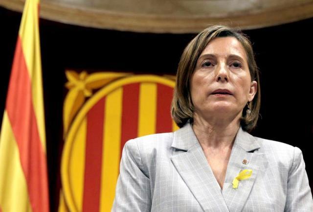 La presidenta de la cámara catalana, Carme Forcadell -   EFE/Alberto Estévez