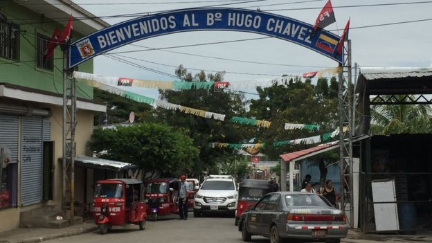 Más de 13.000 personas viven en el barrio Hugo Chávez de Managua