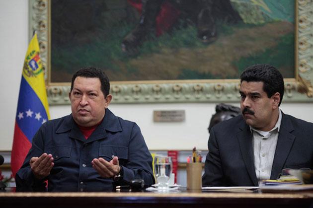 El día que Chávez se despidió y dejó a Maduro como su heredero