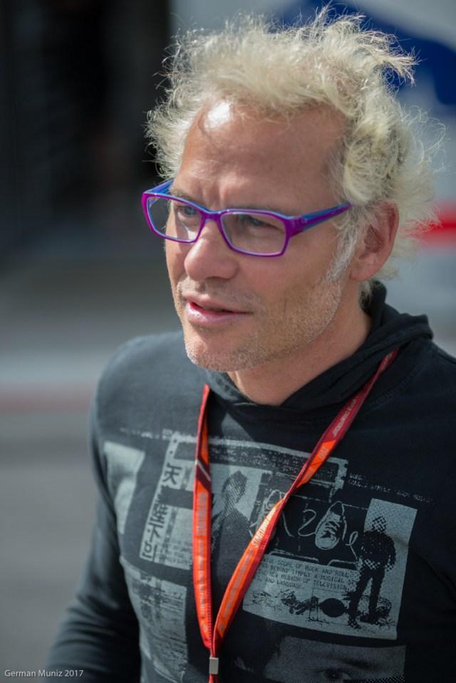 El campeón mundial del 2007, Jacques Villeneuve