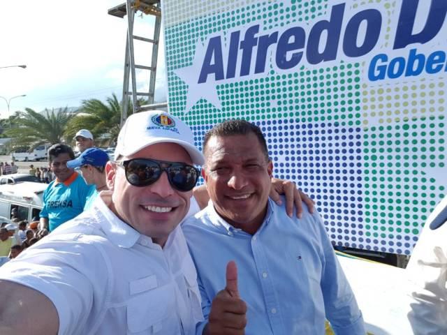 Diomedes Potentini y Alfredo Díaz
