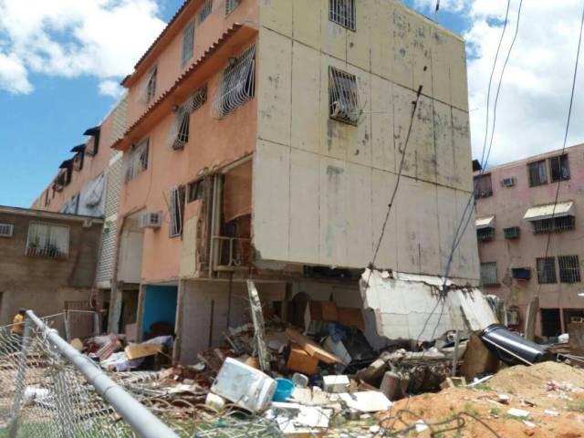 Así el lugar donde un joven perdió la vida en los Bloques de la Paragua, y varias familias quedaron sin un techo