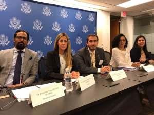 Fabio Valentini: EEUU y comunidad internacional nos exhortan a continuar presión contra el régimen