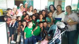 Diputada Tatiana Montiel arrancó programa de alimentación infantil para frenar la desnutrición