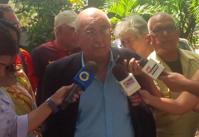 Vicente Carias, integrante de la Asociación de Trabajadores, Emprendedores y Microempresarios (Atraem) // FOTO Prensa