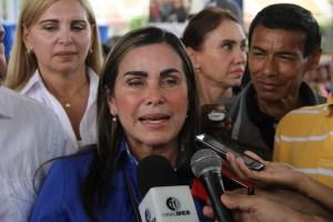 Eveling de Rosales invita los venezolanos a participar en los comicios regionales
