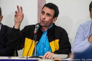 """""""Vamos a pelear"""": Capriles se lanzó por el tobogán de un show electoral con Maduro en Miraflores"""