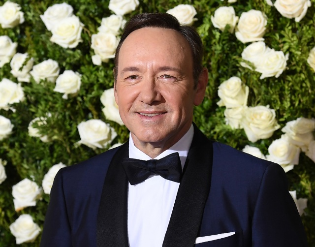 "(FILES): This file photo taken on June 11, 2017 shows Kevin Spacey attending the 2017 Tony Awards - Red Carpet at Radio City Music Hall in New York City. Kevin Spacey came out as gay early Monday, October 30, 2017 and apologized to actor Anthony Rapp, who accused the Hollywood star of making a sexual advance on him at a 1986 party when he was only 14 years old. Spacey's announcement, posted to his Twitter account at midnight, came after Rapp -- best known for being part of the original cast of Broadway hit ""Rent"" -- made the accusation in an interview with Buzzfeed News. / AFP PHOTO / ANGELA WEISS"