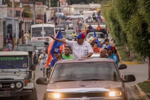 El candidato a la gobernación del estado Yaracuy, Luis Parra