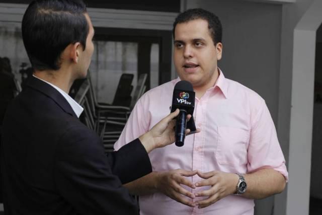 El coordinador nacional de Formación de Cuadros, Pedro Urruchurtu