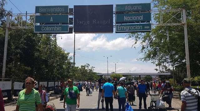 Foto: Lado colombiano del puente internacional Simón Bolívar, en la frontera con Venezuela. Foto: David Ramos / ACI Prensa