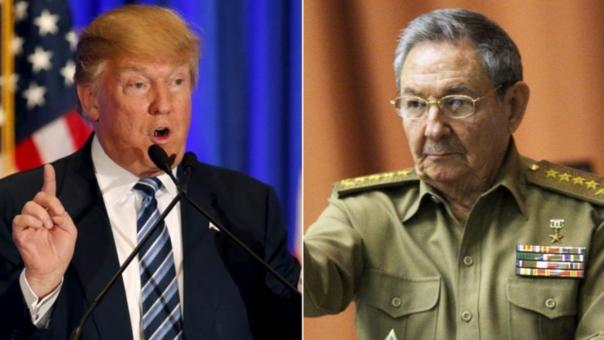 Raul Castro y Trump